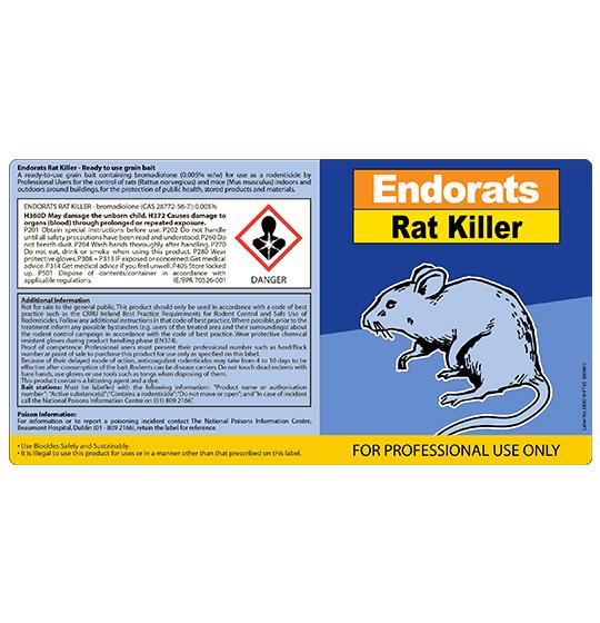 Endomice Mouse Killer Bait