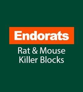 Endorats Rat & Mouse Killer Blocks